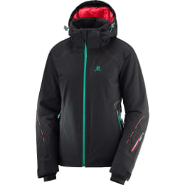 Vêtement de ski SALOMON SALOMON ICECRYSTAL JKT W BLACK 19 - Ekosport
