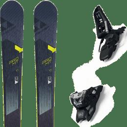Pack ski+fix FISCHER FISCHER PRO MT 95 TI 19 + MARKER SQUIRE 11 ID BLACK 21 - Ekosport