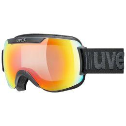 UVEX DOWNHILL 2000 V BLACK MAT/MIR RAINBOW/VARIOMATIC 21