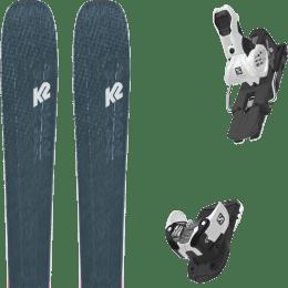 Pack ski alpin K2 K2 MINDBENDER 98 TI ALLIANCE 20 + SALOMON WARDEN MNC 13 N WHITE/BLACK 22 - Ekosport