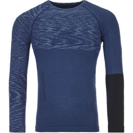 ORTOVOX 230 COMPETITION LONG SLEEVE M NIGHT BLUE BLEND 21