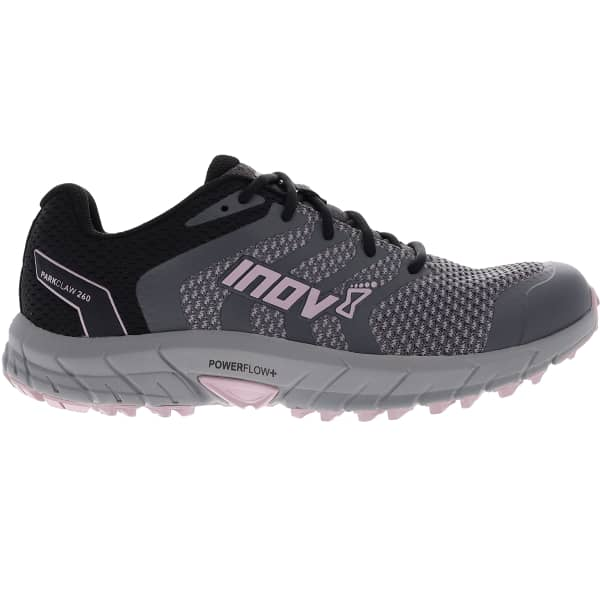 INOV-8 Chaussure trail Parkclaw 260 Knit W Grey/black/pink Femme Gris taille 4.5