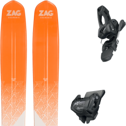 ZAG SLAP 112 21 + TYROLIA ATTACK² 11 GW W/O BRAKE [L] SOLID BLACK 20
