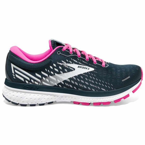 BROOKS Chaussure running Ghost 13 W Reflective Pond/pink/ice Femme Vert/Rose taille 5.5