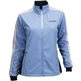 SWIX CROSS JACKET WOMEN BLUE BELL 21
