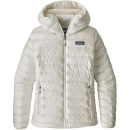 PATAGONIA W'S DOWN SWEATER HOODY BIRCH WHITE 19