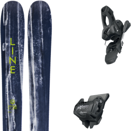 LINE SUPERNATURAL 100 20 + TYROLIA ATTACK² 11 GW W/O BRAKE [L] SOLID BLACK 20