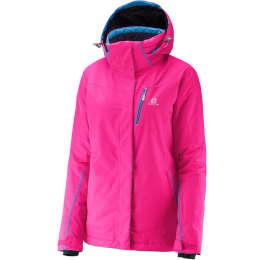 Vêtement hiver SALOMON SALOMON EXPRESS JKT W HOT PINK 16 - Ekosport