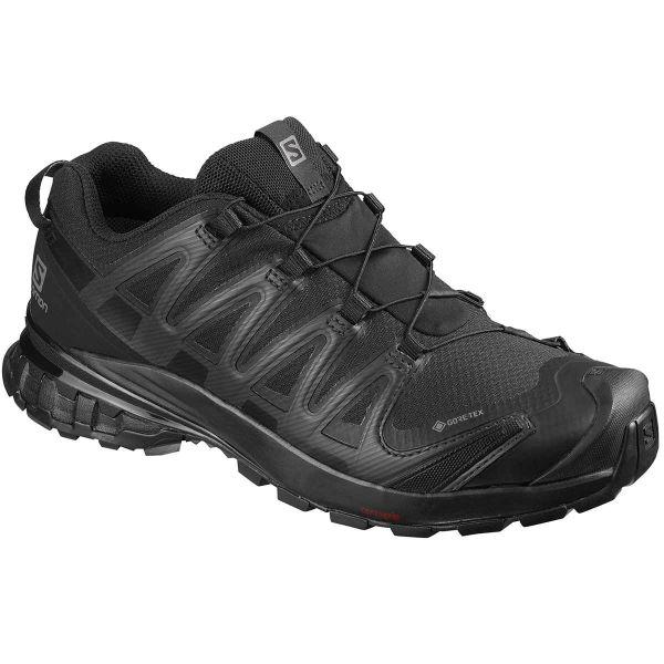 SALOMON Chaussure trail Xa Pro 3d V8 Gore-tex W Black/black/phantom Femme Noir taille 3.5