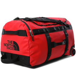 THE NORTH FACE BASE CAMP DUFFEL ROLLER TNF RED 21