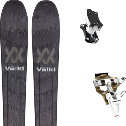 VOLKL RISE HIGH 88 21 + DYNAFIT SPEED TURN 2.0 BRONZE/BLACK 21