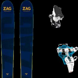 ZAG UBAC 95 21 + DYNAFIT SPEED TURN 2.0 BLUE/BLACK 21