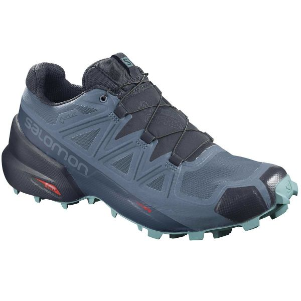 SALOMON Chaussure trail Speedcross 5 Gore-tex W Copen Blue/navy Blazer/meadowbrook Femme Bleu taille 3.5