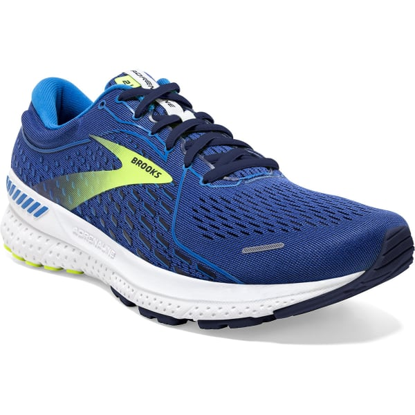 BROOKS Chaussure running Adrenaline Gts 21 Blue/indigo/nightlife Homme Bleu taille 7