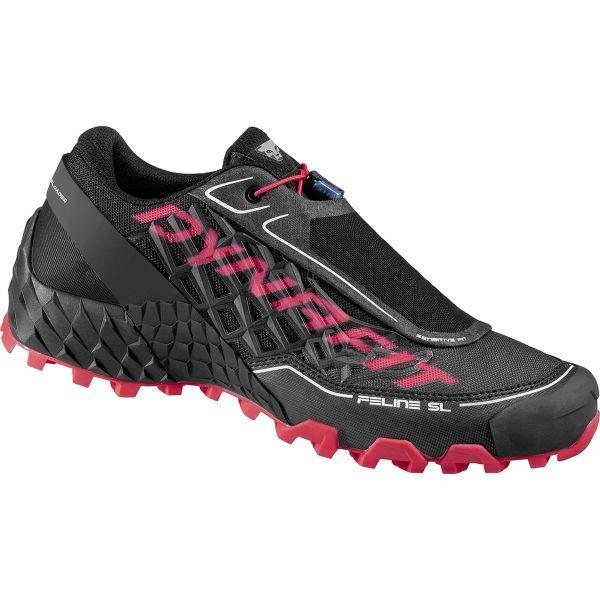 DYNAFIT Chaussure trail Feline Sl W Black/fluo Femme Noir/Rose taille 3.5