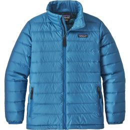 PATAGONIA BOYS' DOWN SWEATER PORT BLUE 19