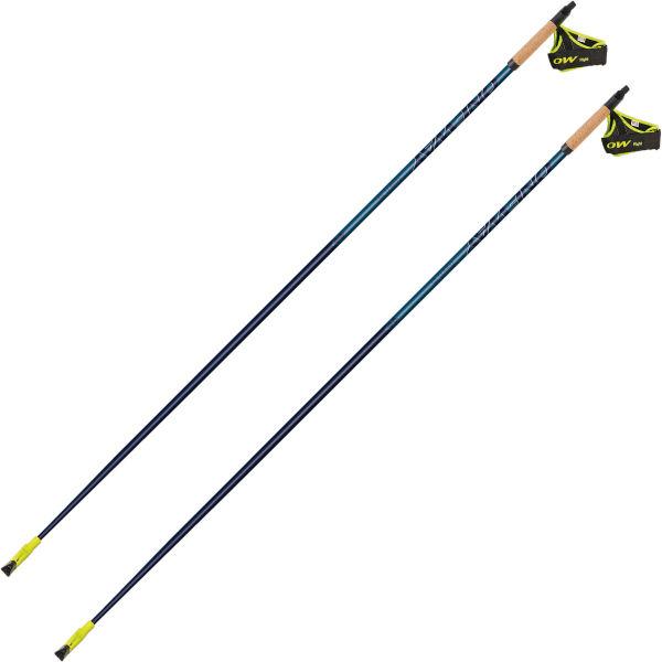 ONE WAY Bâton de marche nordique Oneway Team 15 Bleu 105