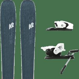 Boutique K2 K2 MINDBENDER 98 TI ALLIANCE 20 + SALOMON Z12 B90 WHITE/BLACK 21 - Ekosport