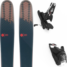 ROSSIGNOL SOUL 7 HD 20 + LOOK SPX 12 GW B100 BLACK 21