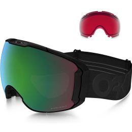 OAKLEY AIRBRAKE XL FACTORY PILOT BLACKOUT / PRIZM JADE IRIDIUM & PRIZM ROSE 20