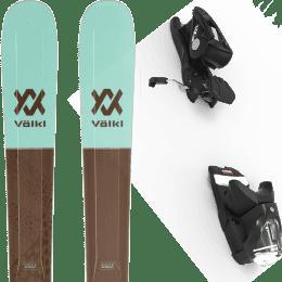 Pack ski alpin VOLKL VOLKL SECRET 102 20 + LOOK NX 12 GW B100 BLACK 22 - Ekosport