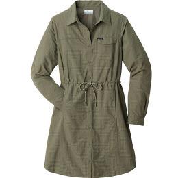 COLUMBIA SILVER RIDGE™ NOVELTY DRESS STONE GREEN 21