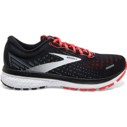 BROOKS GHOST 13 W BLACK/EBONY/CORAL 21