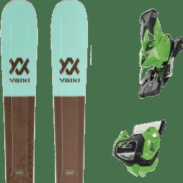 Pack ski alpin VOLKL VOLKL SECRET 102 20 + TYROLIA ATTACK² 13 GW BRAKE 95 [A] GREEN 19 - Ekosport