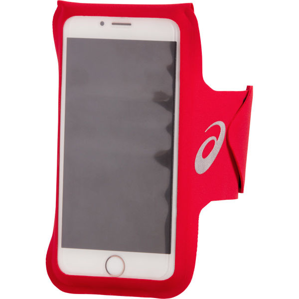 ASICS Brassard running Arm Pouch Phone Classic Red Rouge Unique