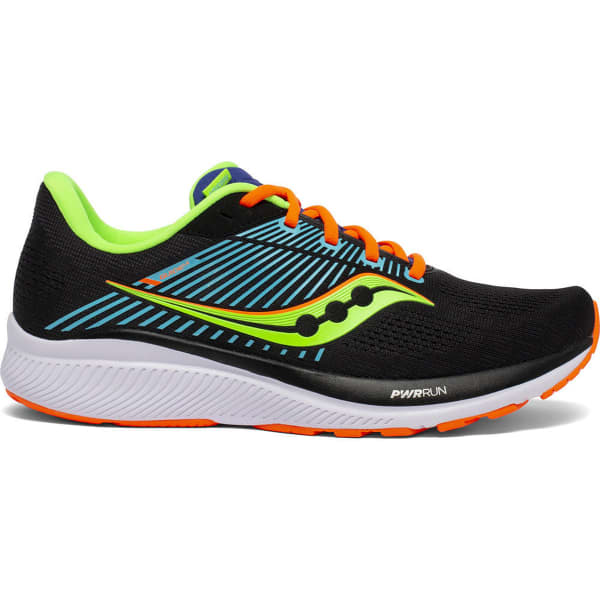 SAUCONY Chaussure running Guide 14 Future/black Homme Noir/Jaune taille 8.5