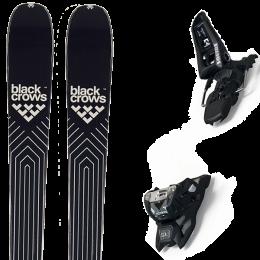 BLACK CROWS DIVUS 21 + MARKER SQUIRE 11 ID BLACK 21