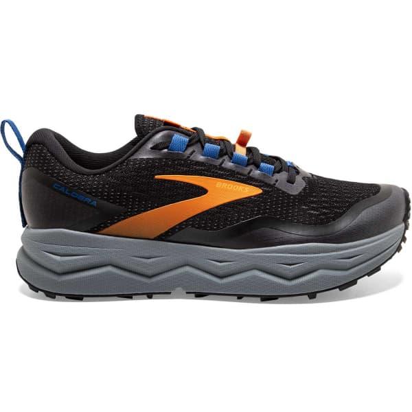 BROOKS Chaussure trail Caldera 5 Black/orange/blue Homme Noir/Orange taille 8.5