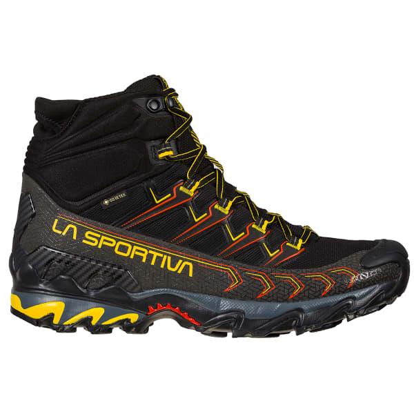LA SPORTIVA Chaussure trail Ultra Raptor Ii Mid Gore-tex Black Yellow Homme Noir/Jaune taille 40