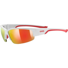 UVEX SPORTSTYLE SGL215 WHT RED 21