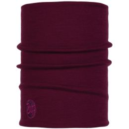 BUFF HEAVYWEIGHT MERINO WOOL THERMAL NECKWARMER BUFF PURPLE RASPBERRY 20