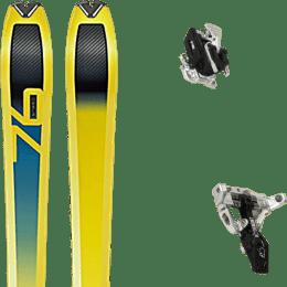 Ski randonnée DYNAFIT DYNAFIT SPEED 76 19 + MOVEMENT SUPERLIGHT TRACKS BLACK 21 - Ekosport