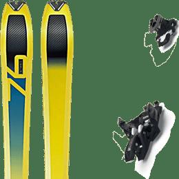 Ski randonnée DYNAFIT DYNAFIT SPEED 76 19 + MARKER ALPINIST 10 BLACK/TITANIUM 22 - Ekosport