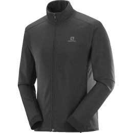 SALOMON AGILE SOFTSHELL JKT M BLACK 21