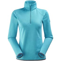 Vêtement de ski EIDER EIDER SIDECUT 1/2 ZIP W BLUE MORPHO 19 - Ekosport