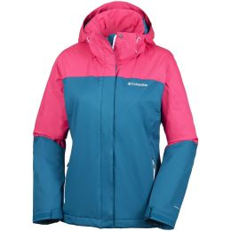 COLUMBIA EVERETT MOUNTAIN JKT PHOENIX BLUE/PUNCH PINK 18