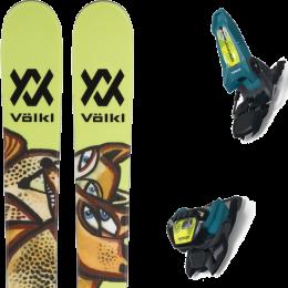 Pack ski alpin VOLKL VOLKL REVOLT 87 21 + MARKER GRIFFON 13 ID TEAL/FLO-YELLOW 21 - Ekosport
