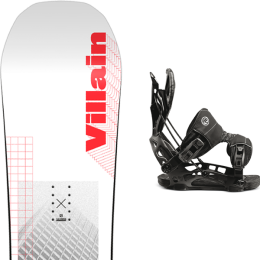 SALOMON THE VILLAIN 21 + FLOW NX2-GT FUSION BLACK 21