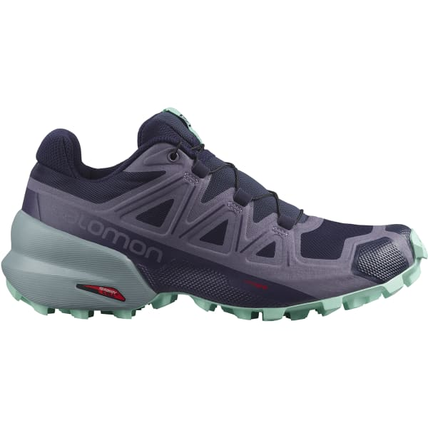 SALOMON Chaussure trail Speedcross 5 W Evening B/cadet/yucca Femme Violet/Bleu taille 3.5