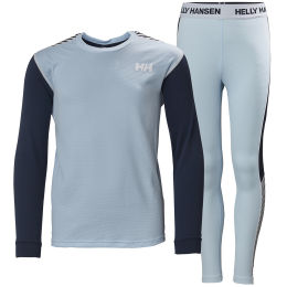 HELLY HANSEN JR HH LIFA ACTIVE SET ICE BLUE 21