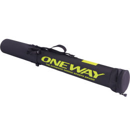ONE WAY SKI POLE TUBE TELESCOPE BLACK 21