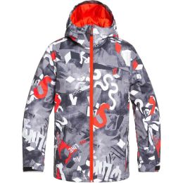 QUIKSILVER MISSION PRINTED YOUTH JK POINCIANA GIANTFORCE 20