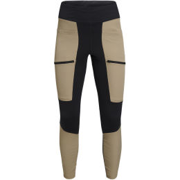 PEAK PERFORMANCE W TRACK TIGHTS TRUE BEIGE-BLACK 21