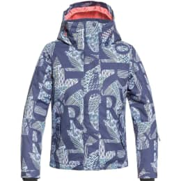 Vêtement hiver ROXY ROXY JETTY GIRL JK CROWN BLUE FREESPACE GIRL 19 - Ekosport