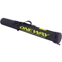 ONE WAY SKI POLE TUBE SMALL 3 PAIRS BLACK 21