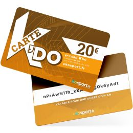 E-CARD KDO 20€
